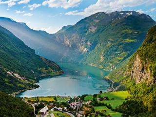 Circuit Croaziera  cu vasul Costa Fascinosa , in regiunea Scandinavia si Fiordurile Norvegiei !